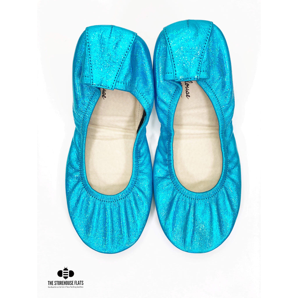 BLIZZARD BLUE RAINBOW | JANUARY PREORDER - The Storehouse Flats