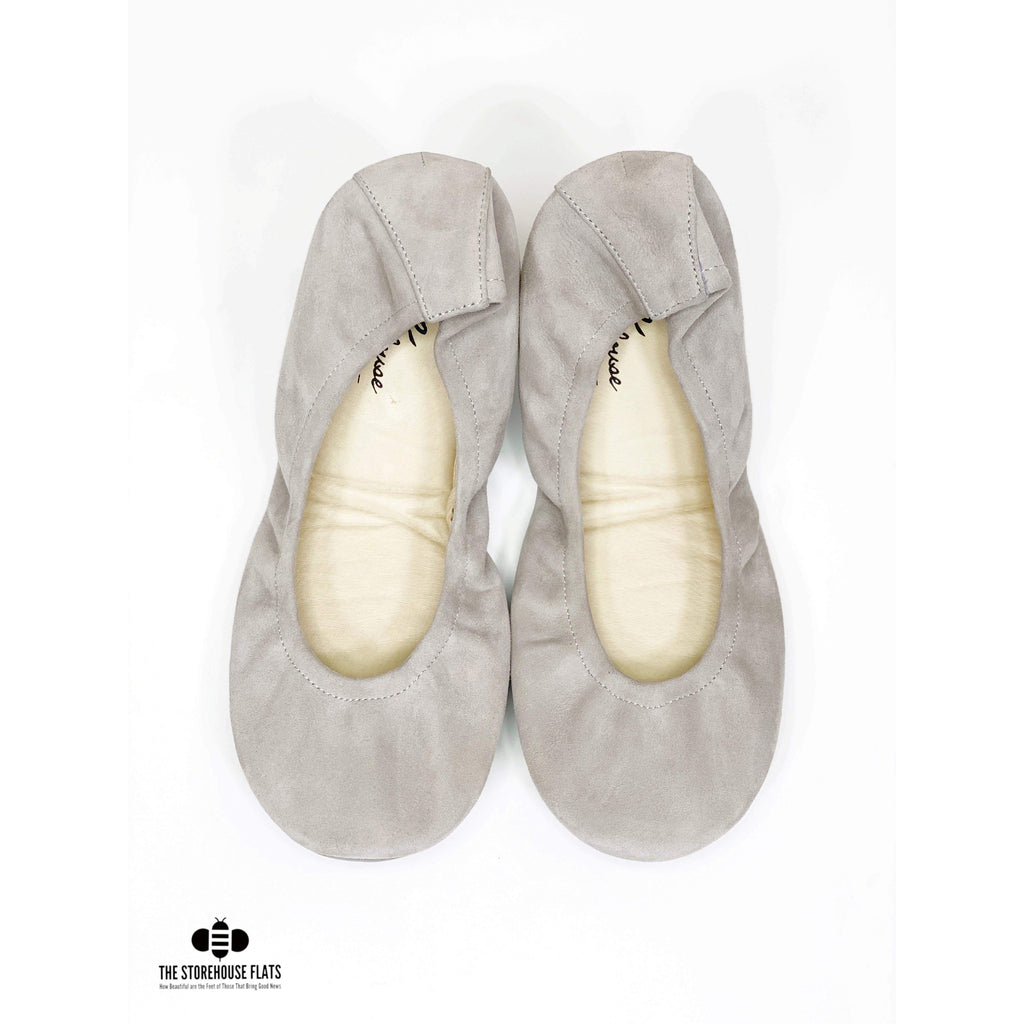CLOUDY DAY SUEDE | JANUARY PREORDER - The Storehouse Flats