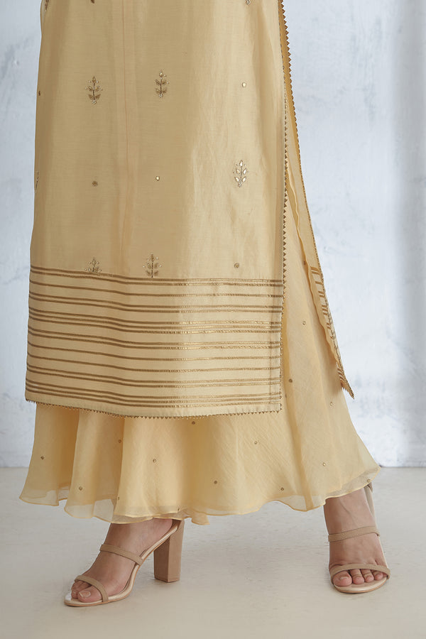 Pale Yellow Sharara