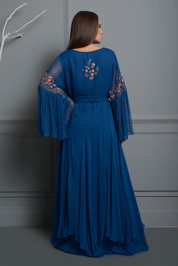 Midnight Blue Kaftan
