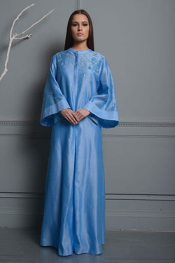French Blue Kaftan