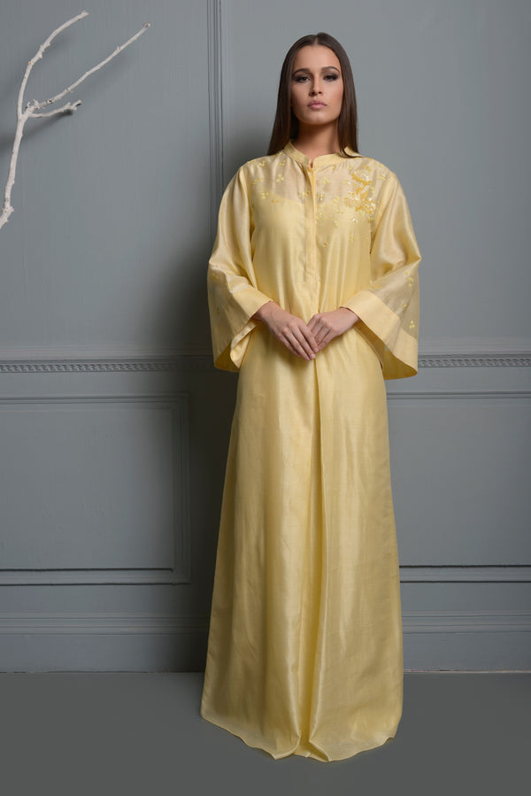 Lemon Yellow Kaftan