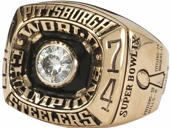 Ebay Online Auction - Steelers Super Bowl Rings=$66,000