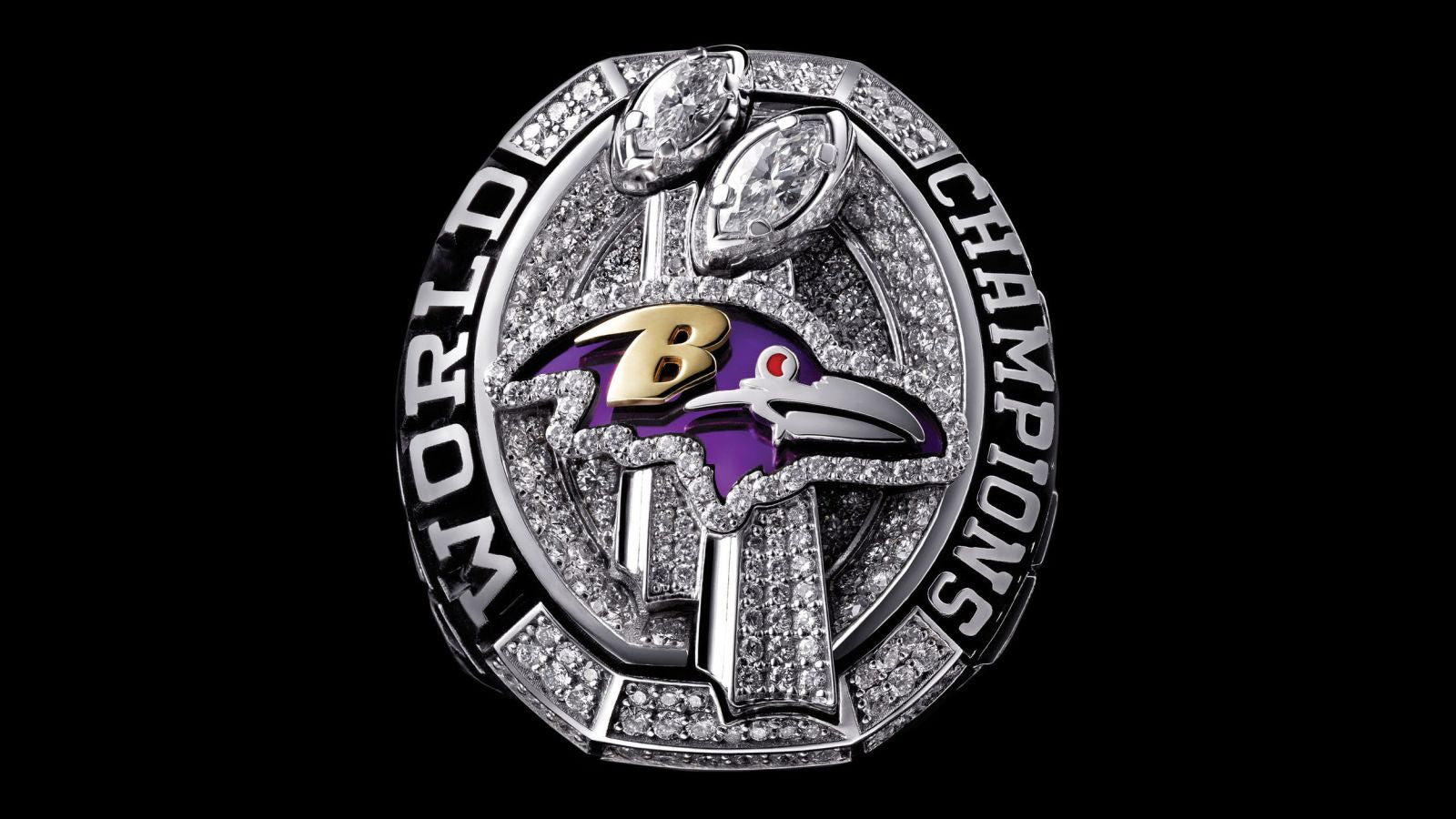 2012 Baltimore Ravens Super Bowl Championship Ring