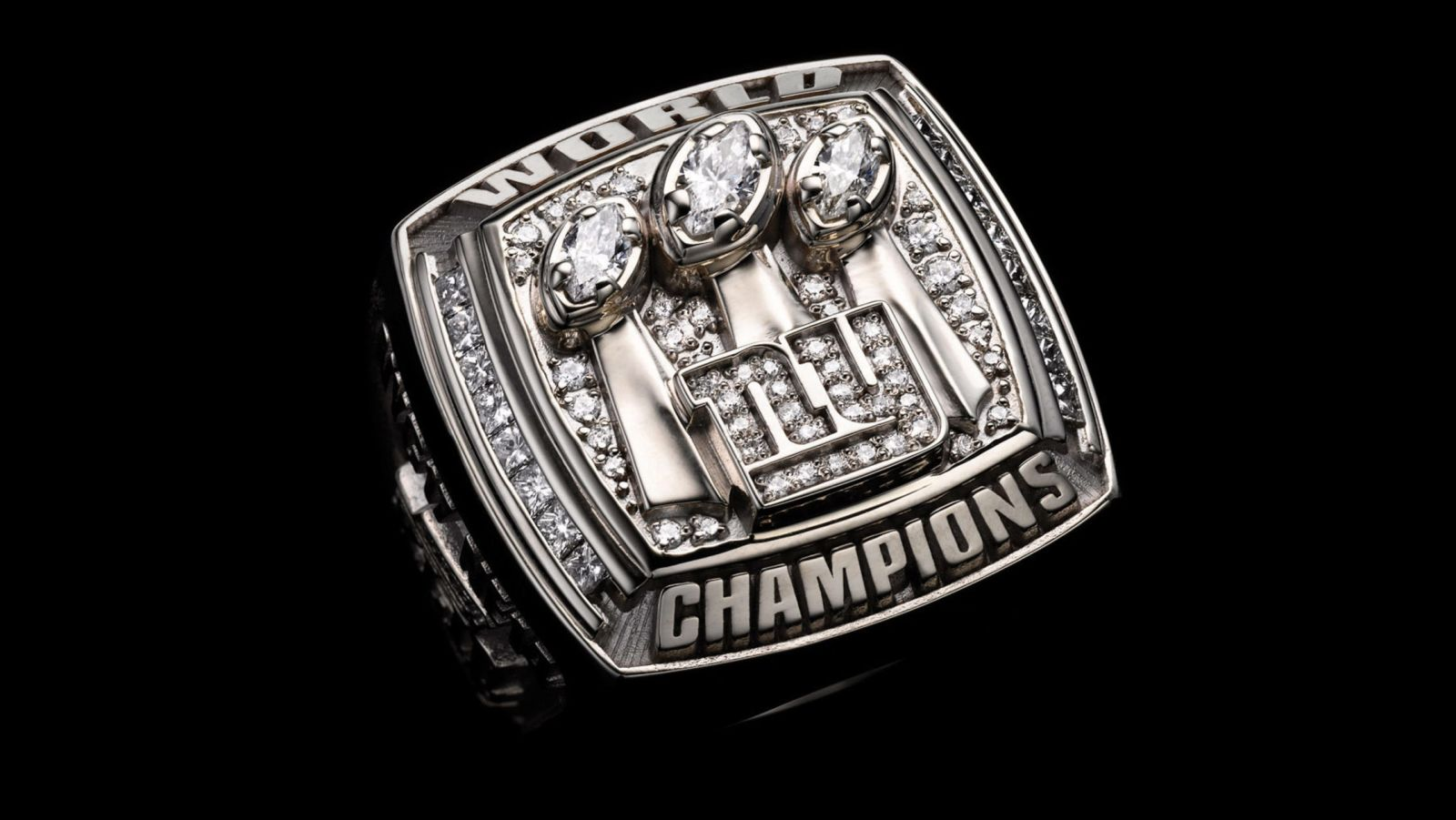 2007 New York Giants Super Bowl Championship Ring