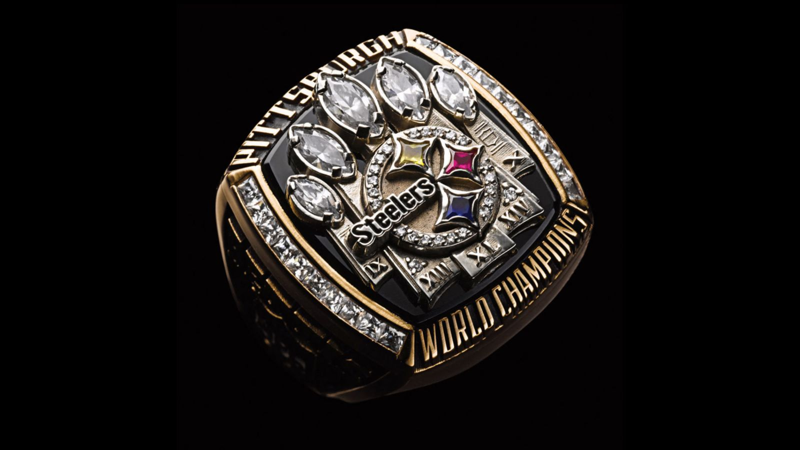 2005 Pittsburgh Steelers Super Bowl Championship Ring