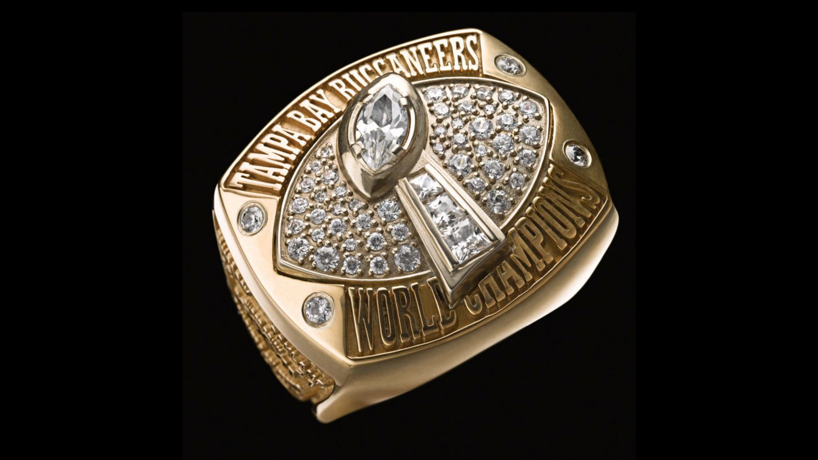 2002 Tampa Bay Buccaneers Super Bowl Ring