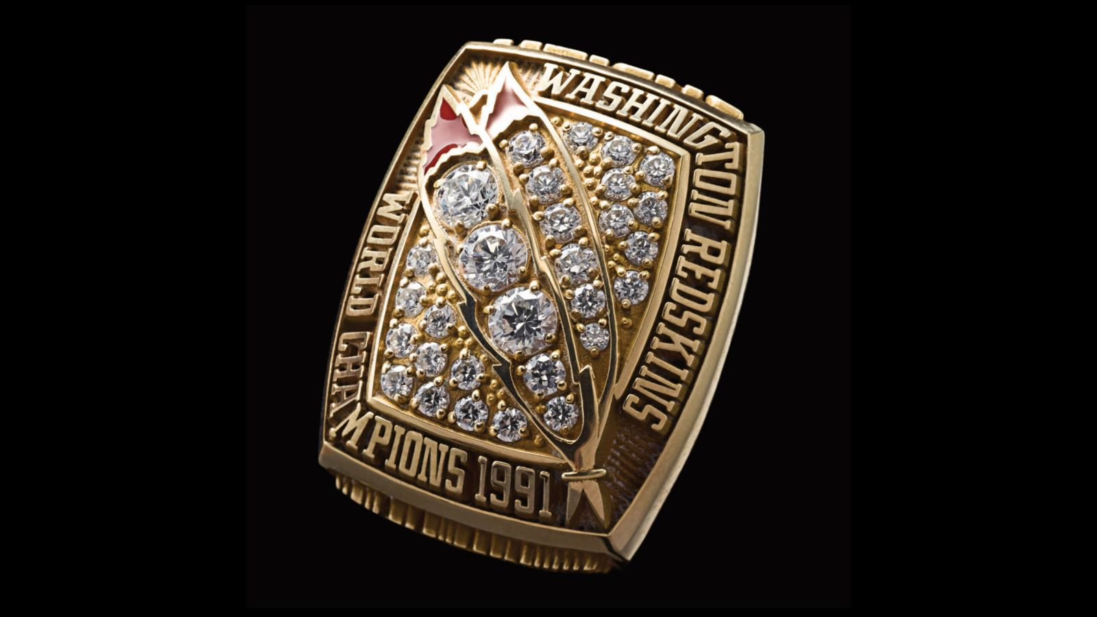 1991 Washington Redskins Super Bowl Championship Ring