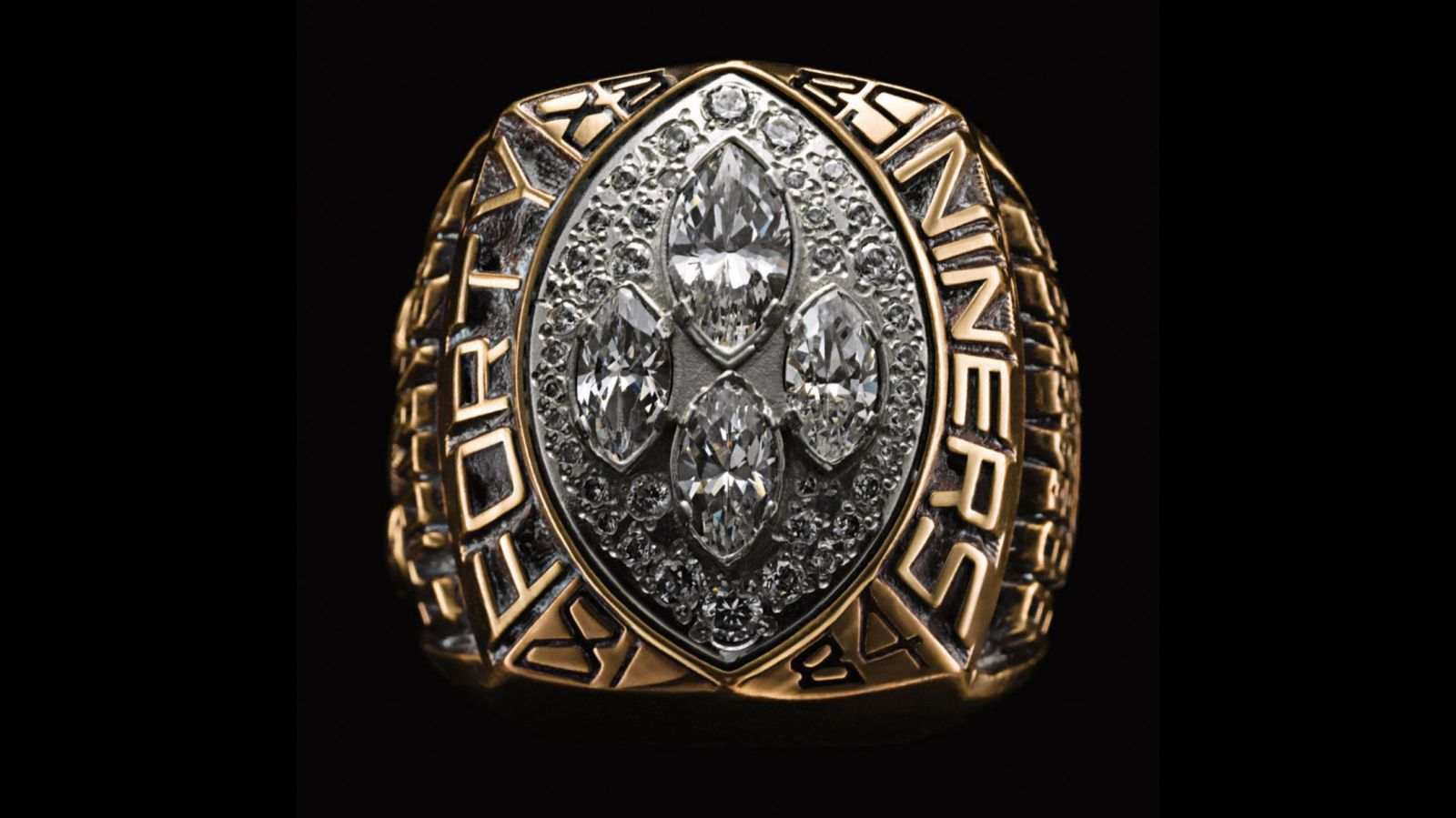 1989 San Francisco 49ers Super Bowl Championship Ring