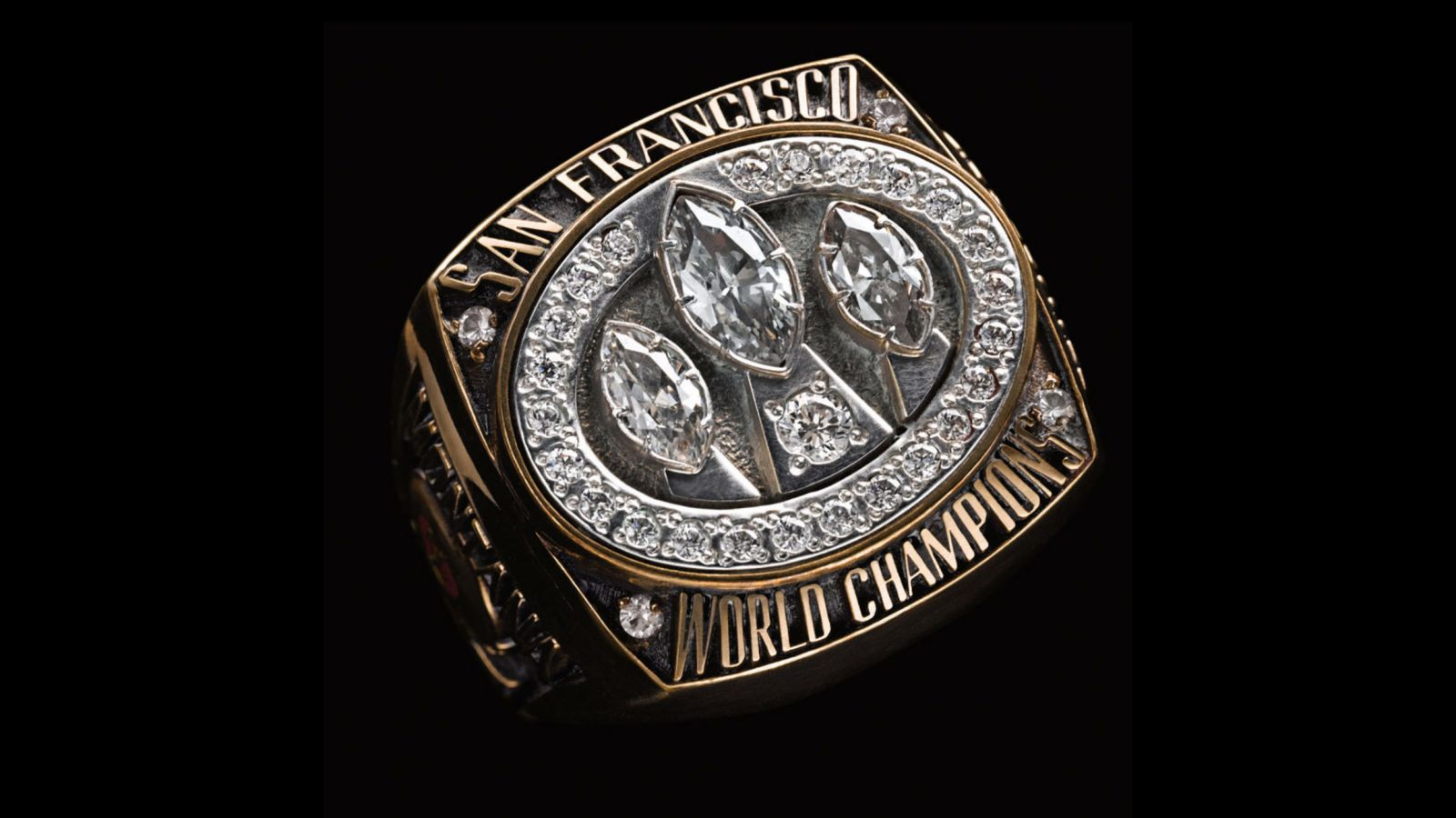 1988 San Francisco 49ers Super Bowl Championship Ring
