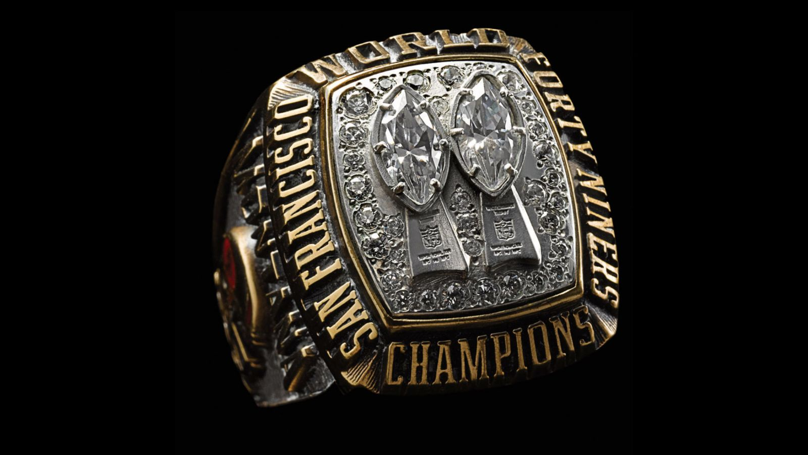 1984 San Francisco 49ers Super Bowl Championship Ring