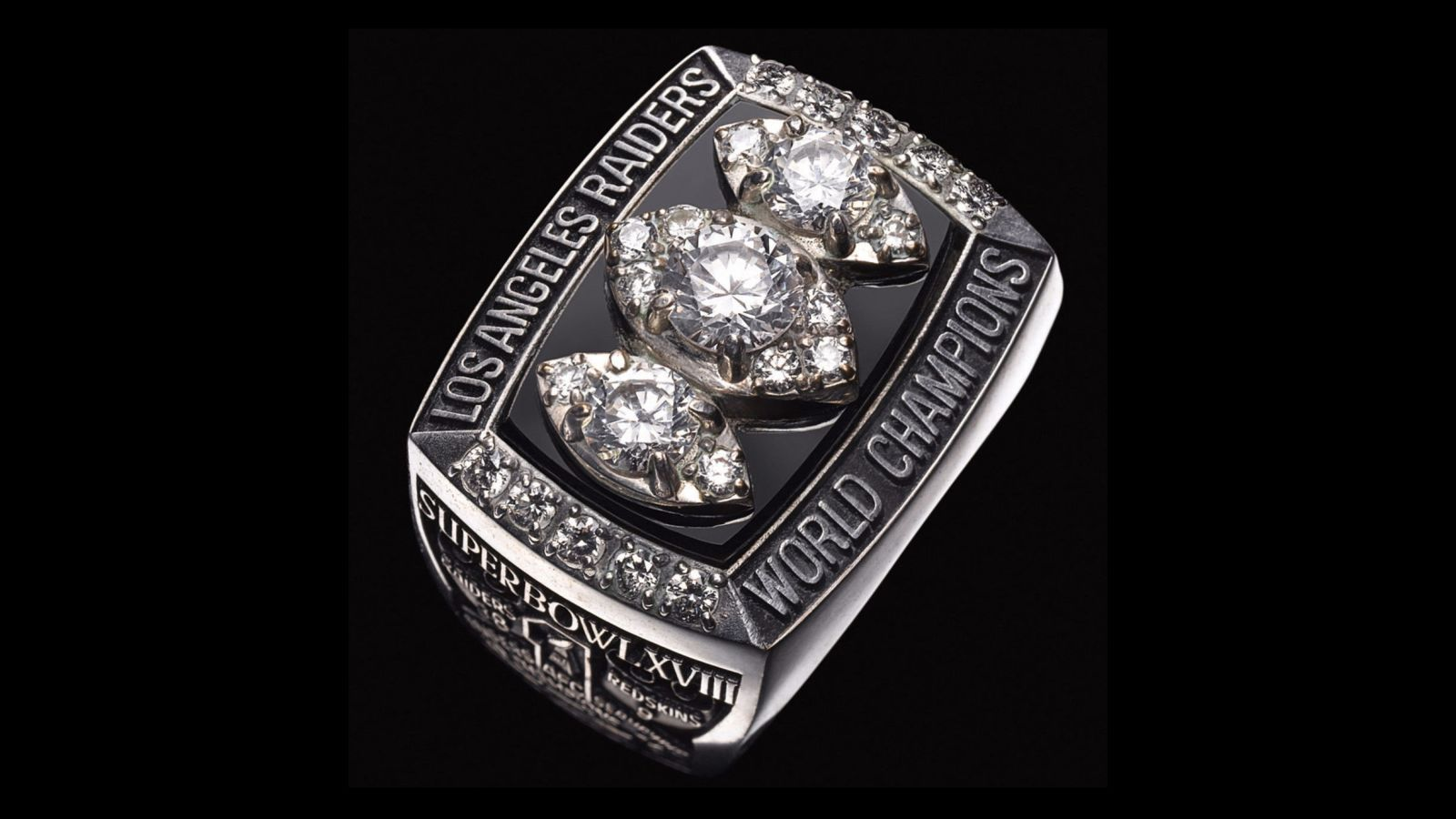 1983 Oakland Raiders Super Bowl Championship Ring