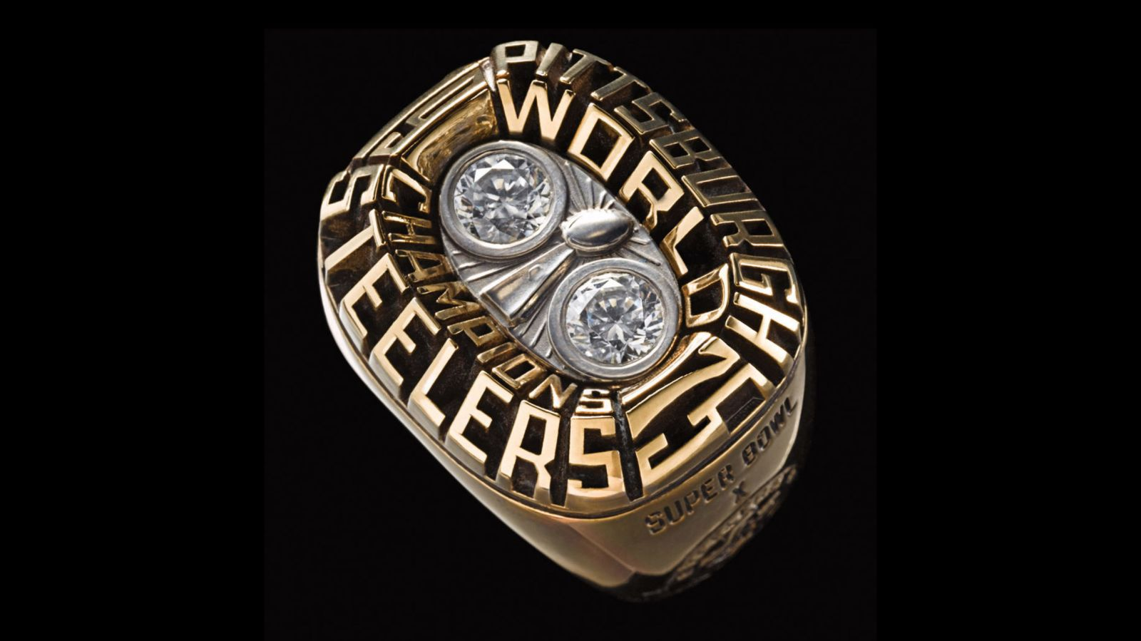 1975 Pittsburgh Steelers Super Bowl Championship Ring