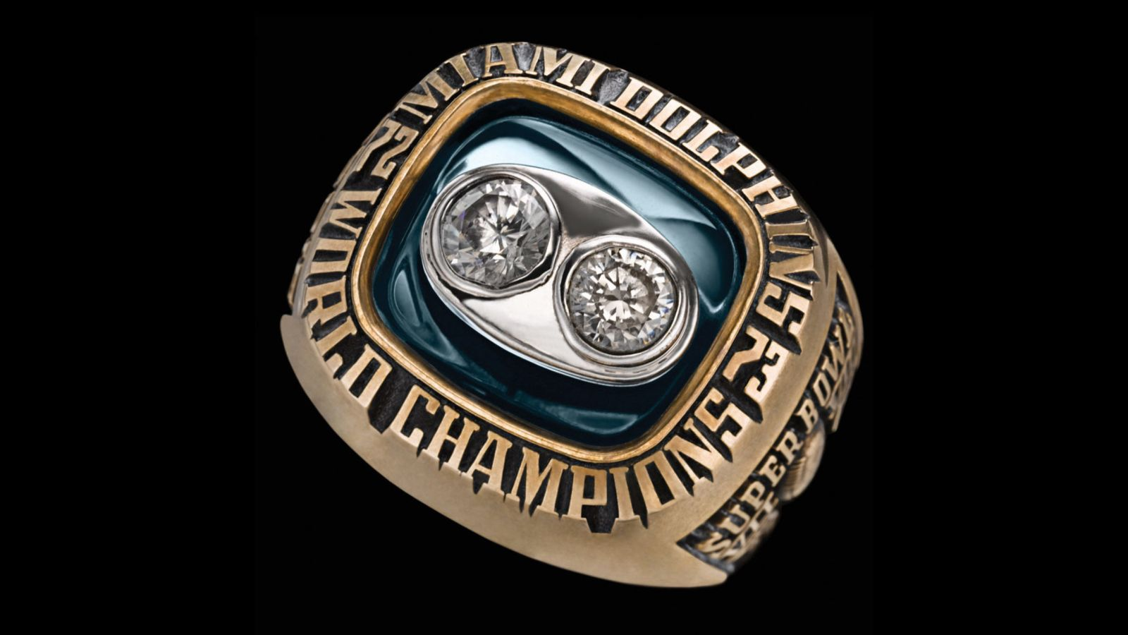 1973 Miami Dolphins Super Bowl Championship Ring