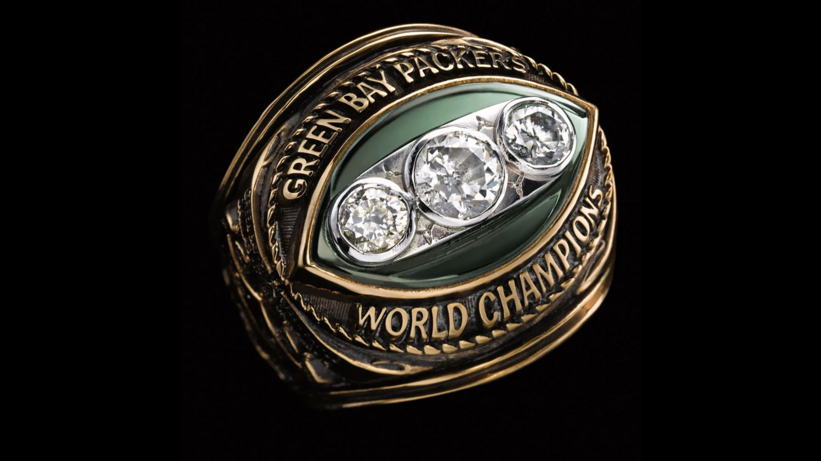 1967 Green Bay Packers Super Bowl Championship Ring