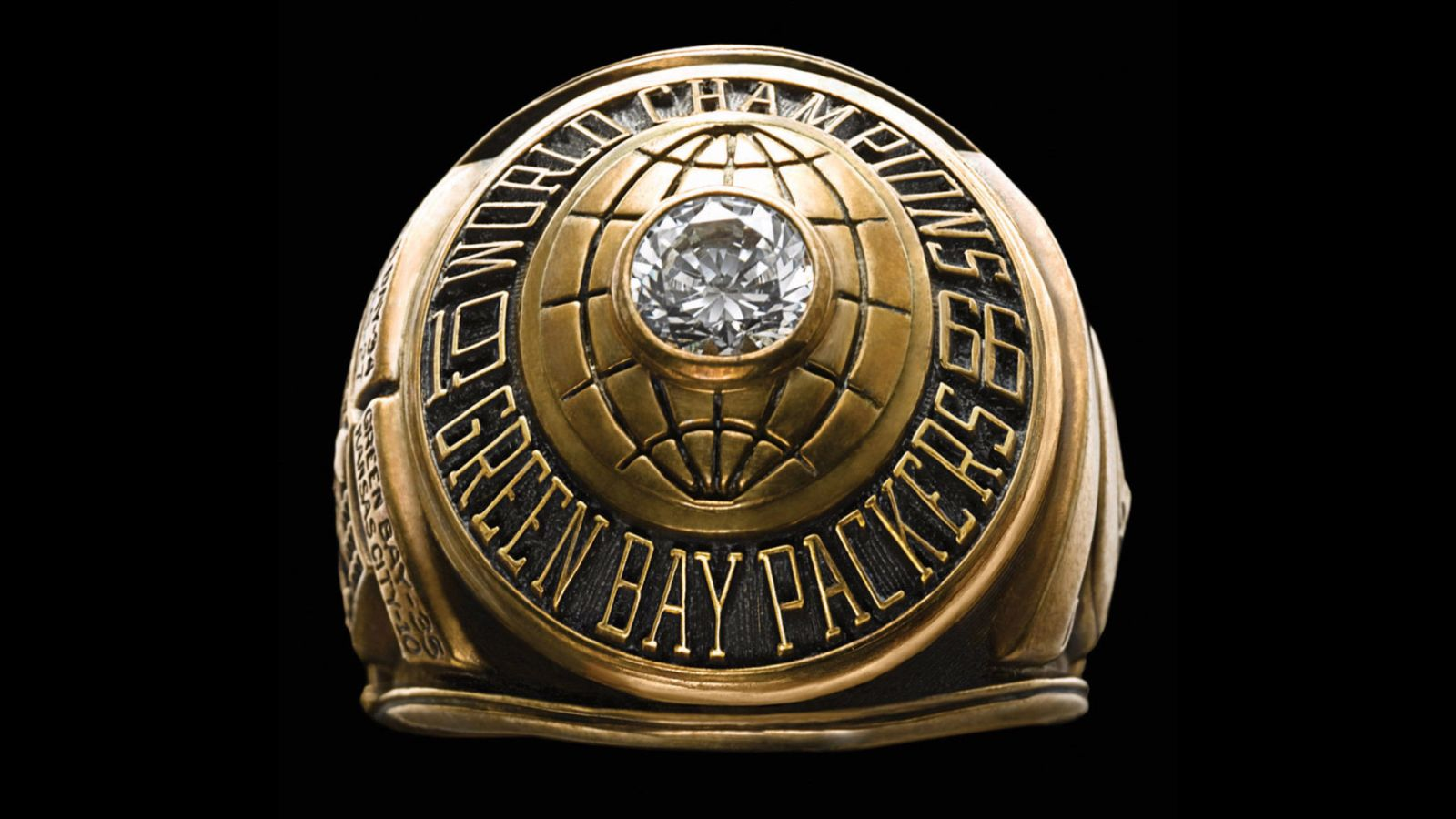 1966 Green Bay Packers Super Bowl Championship Ring