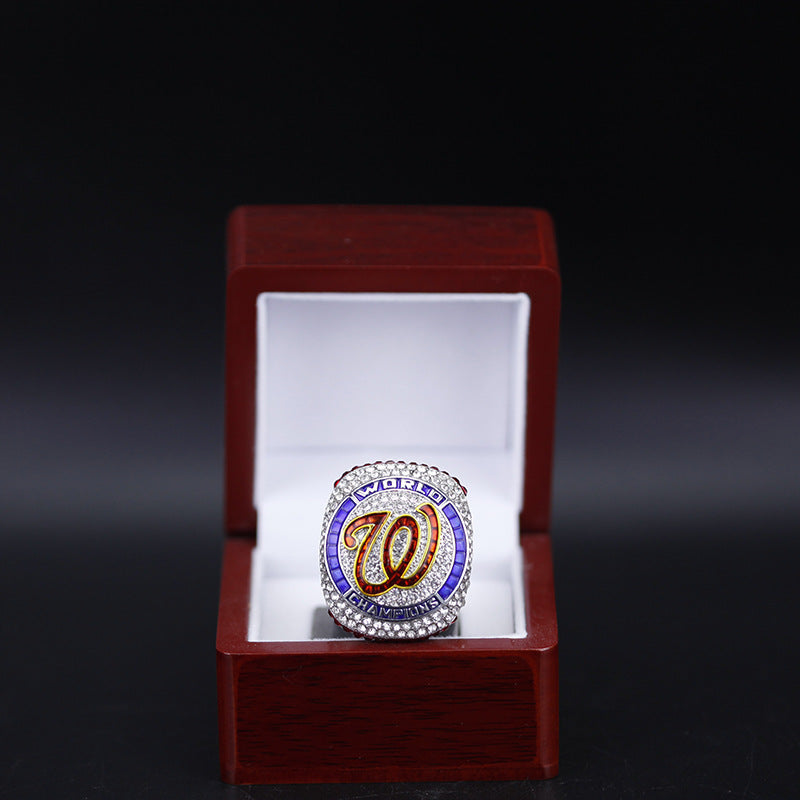 2019-2020 Washington Nationals Unveil Official World Series Ring - Standard Edition