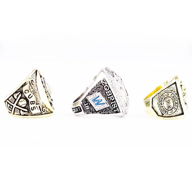 1907/1908/2016 Chicago Cubs World Series Championship Ring Sets - foxfans.myshopify.com