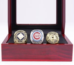 1907/1908/2016 Chicago Cubs World Series Championship Ring Sets