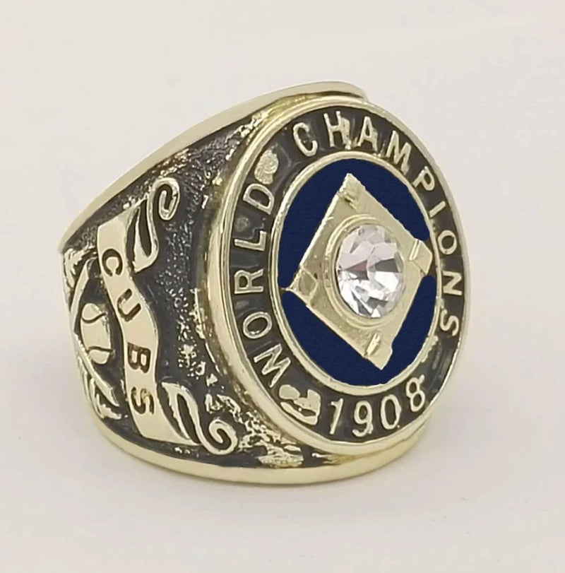1908 Chicago Cubs World Series Championship Ring - foxfans.myshopify.com