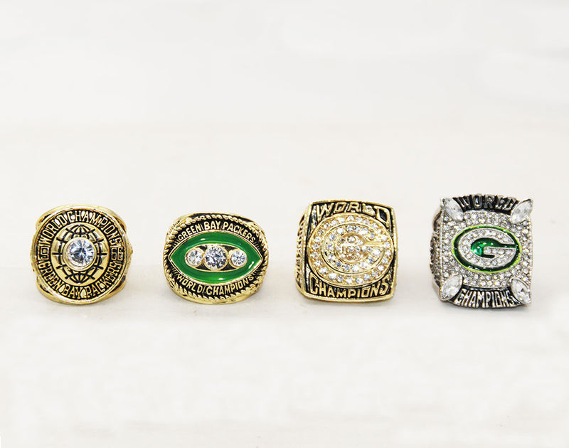 1996 Green Bay Packers Super Bowl Championship Ring - foxfans.myshopify.com
