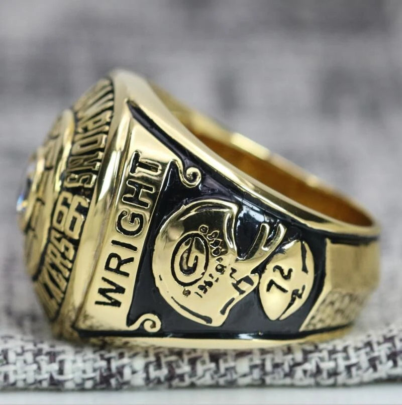 1966 Green Bay Packers Super Bowl Ring - Premium Series - foxfans.myshopify.com
