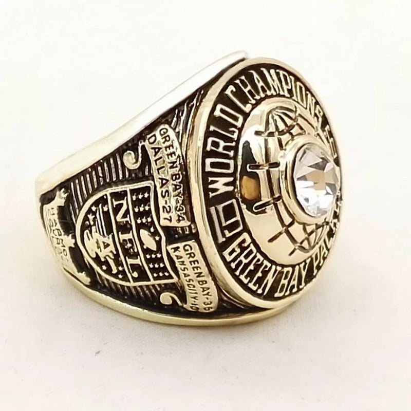 1966 Green Bay Packers Super Bowl Championship Ring - foxfans.myshopify.com