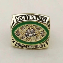 Load image into Gallery viewer, 1968 New York Jets Super Bowl Championship Ring - foxfans.myshopify.com