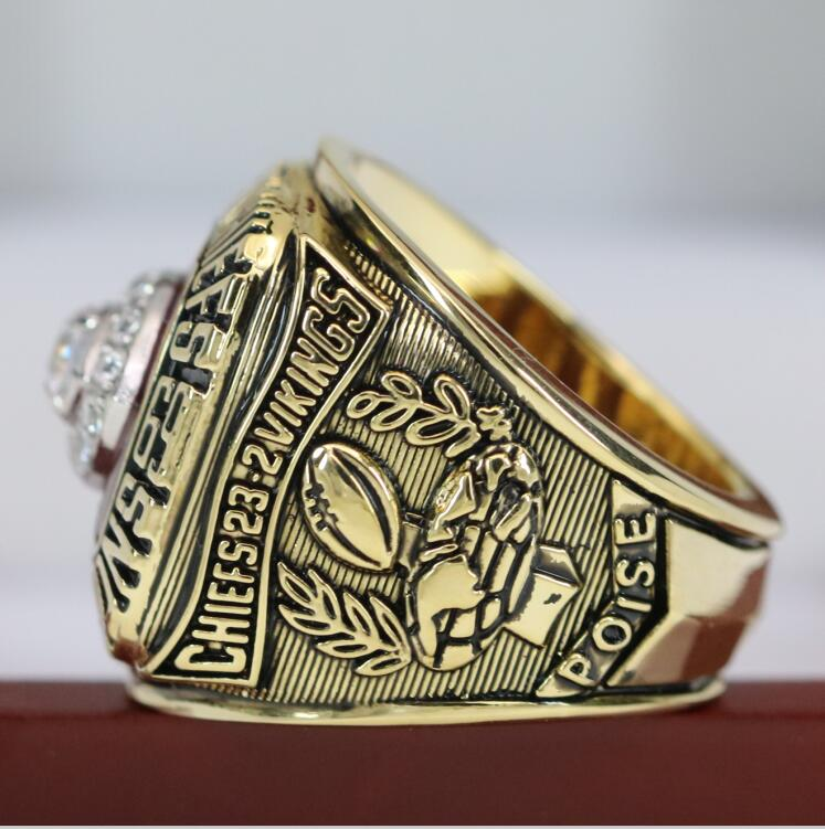 1969 Kansas City Chiefs Super Bowl Ring - Premium Series