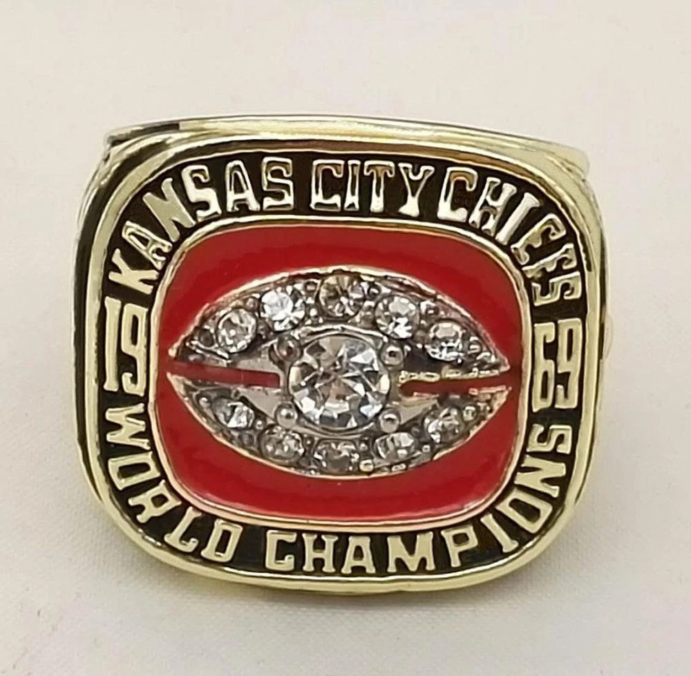 1969 Kansas City Chiefs Super Bowl Championship Ring