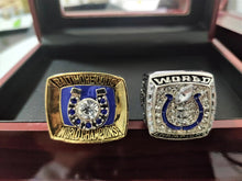 Load image into Gallery viewer, 1970/2006 Baltimore Colts&Indianapolis Colts Super Bowl Championship Ring Set