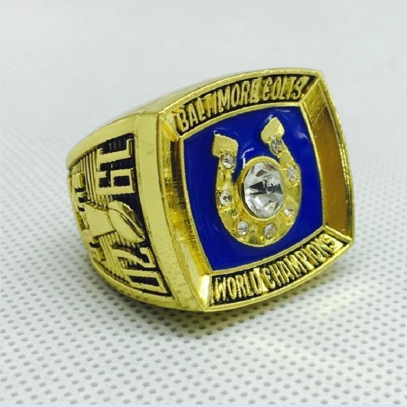 1970 Baltimore Colts Super Bowl Championship Ring - foxfans.myshopify.com