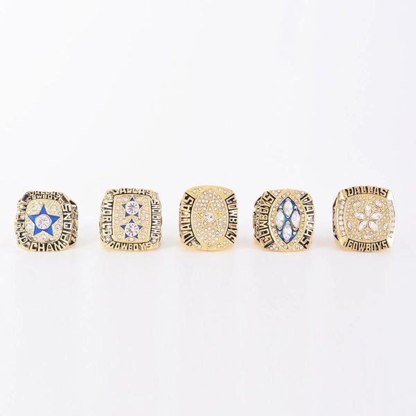 1971-1995 Dallas Cowboys Super Bowl Championship Rings Set - foxfans.myshopify.com
