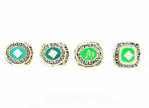1974 Oakland Athletics World Series Championship Ring