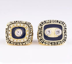 1972/1973 Miami Dolphins Super Bowl Championship Rings Set - foxfans.myshopify.com