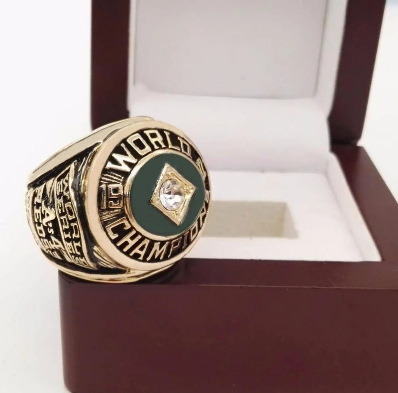 1972 Oakland Athletics World Series Championship Ring - foxfans.myshopify.com