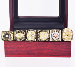 1974-2008 Pittsburgh Steelers Super Bowl Championship Rings Set - foxfans.myshopify.com