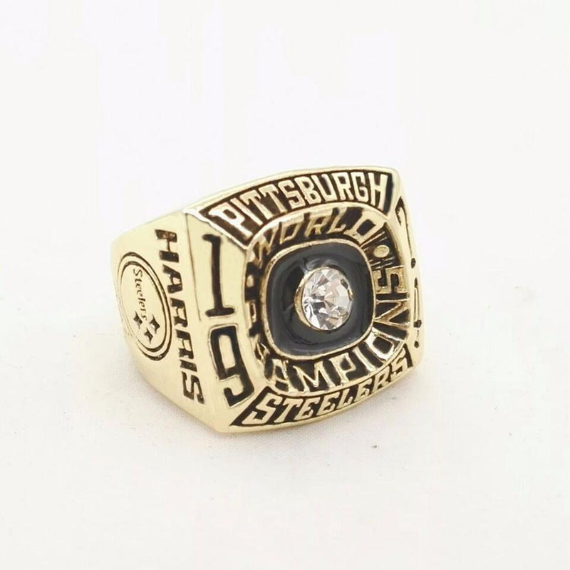 1974 Pittsburgh Steelers Super Bowl Championship Ring - foxfans.myshopify.com