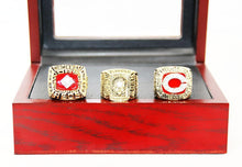Load image into Gallery viewer, 1975/1976/1990 Cincinnati Reds World Series Championship Rings Sets