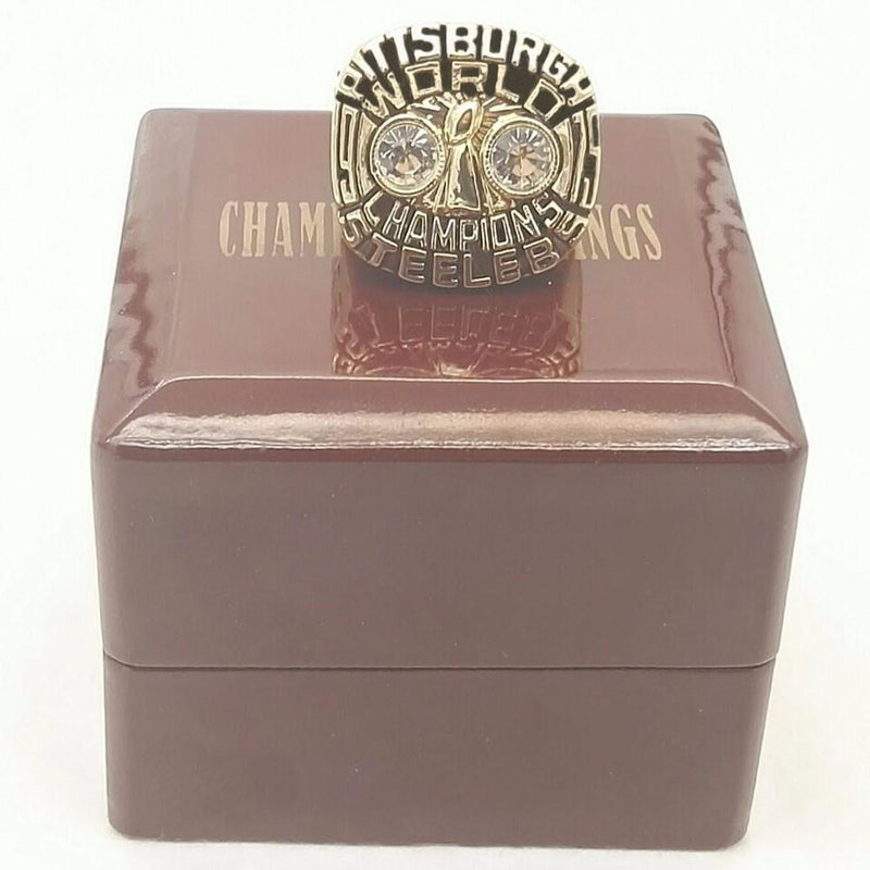 1975 Pittsburgh Steelers Super Bowl Championship Ring - foxfans.myshopify.com