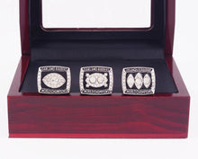 Load image into Gallery viewer, 1976/1980/1983 Oakland Raiders Super Bowl Championship Rings Set