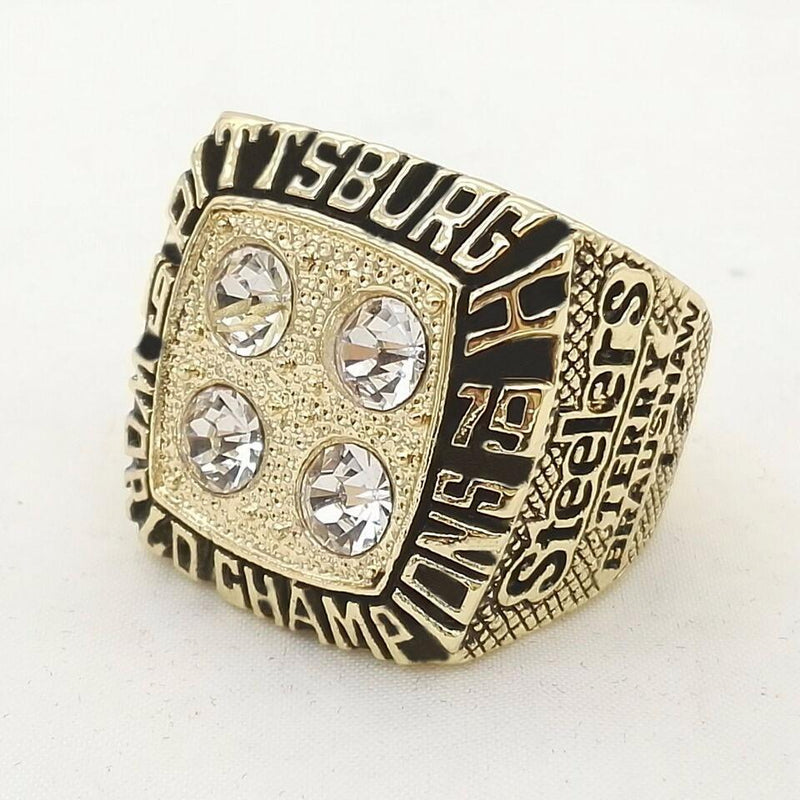 1979 Pittsburgh Steelers Super Bowl Championship Ring - foxfans.myshopify.com