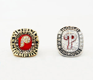 1980/2008 Philadelphia Philies World Series Championship Rings Sets