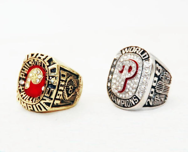 1980/2008 Philadelphia Philies World Series Championship Rings Sets - foxfans.myshopify.com