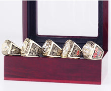 Load image into Gallery viewer, 1981/1984/1988/1989/1994 San Francisco 49ers Super Bowl Championship Rings Set