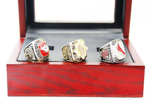 1982/2006/2011 St. Louis Cardinals World Series Championship Rings Set - foxfans.myshopify.com