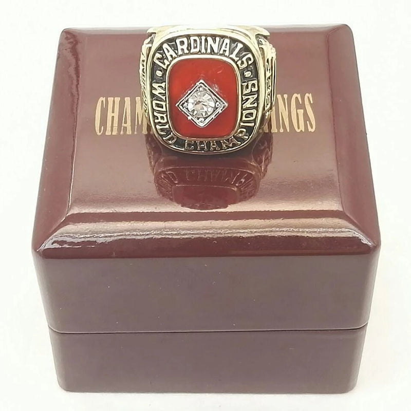1982 St. Louis Cardinals World Series Championship Ring - foxfans.myshopify.com
