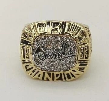 1983 Baltimore Orioles World Series Championship Ring - foxfans.myshopify.com