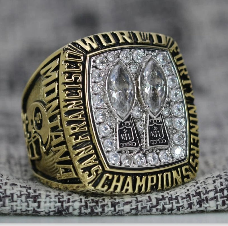 1984 San Francisco 49ers Super Bowl Ring - Premium Series - foxfans.myshopify.com