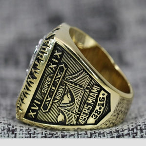 1984 San Francisco 49ers Super Bowl Ring - Premium Series